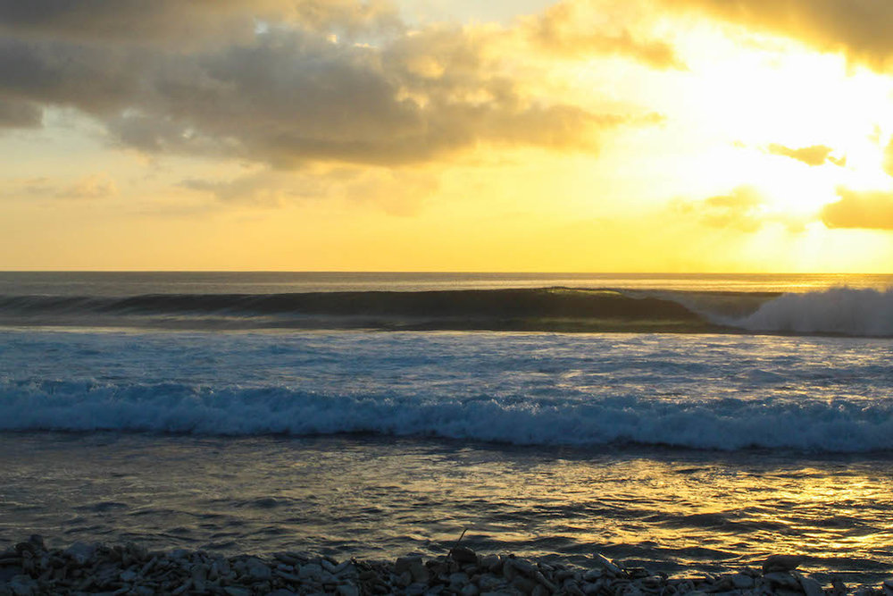 Sunsets for natural footers.