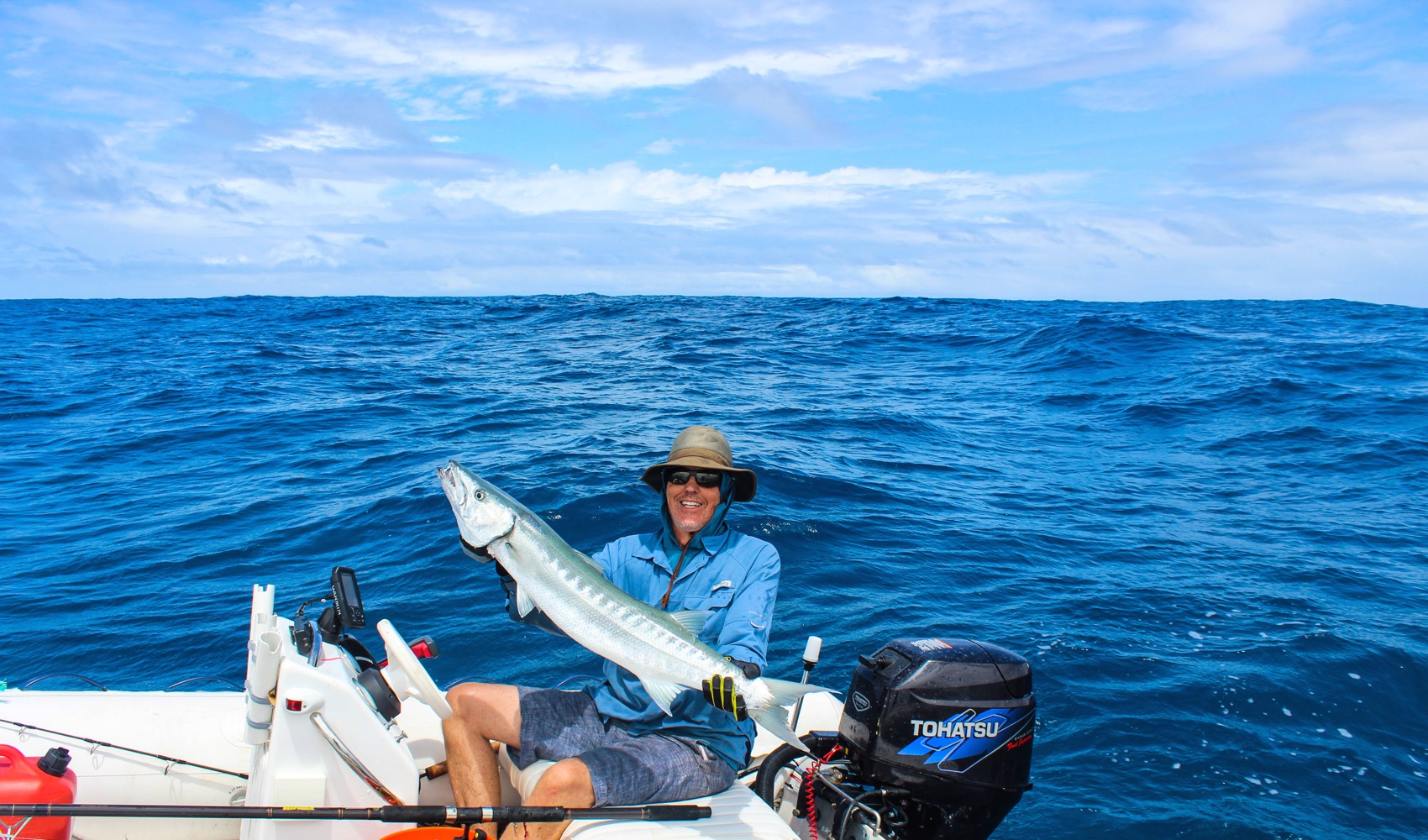 Barracuda always put up a great fight!