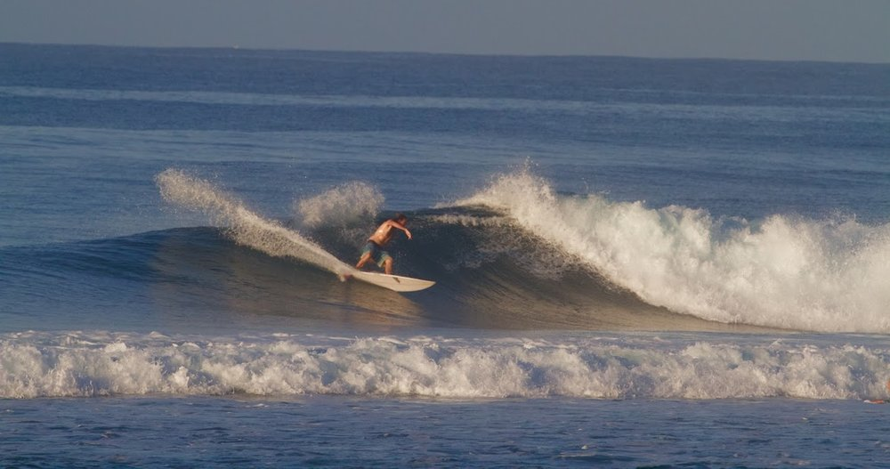 Wide open wall to carve through.