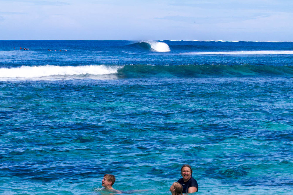 Family fun, for surfers.
