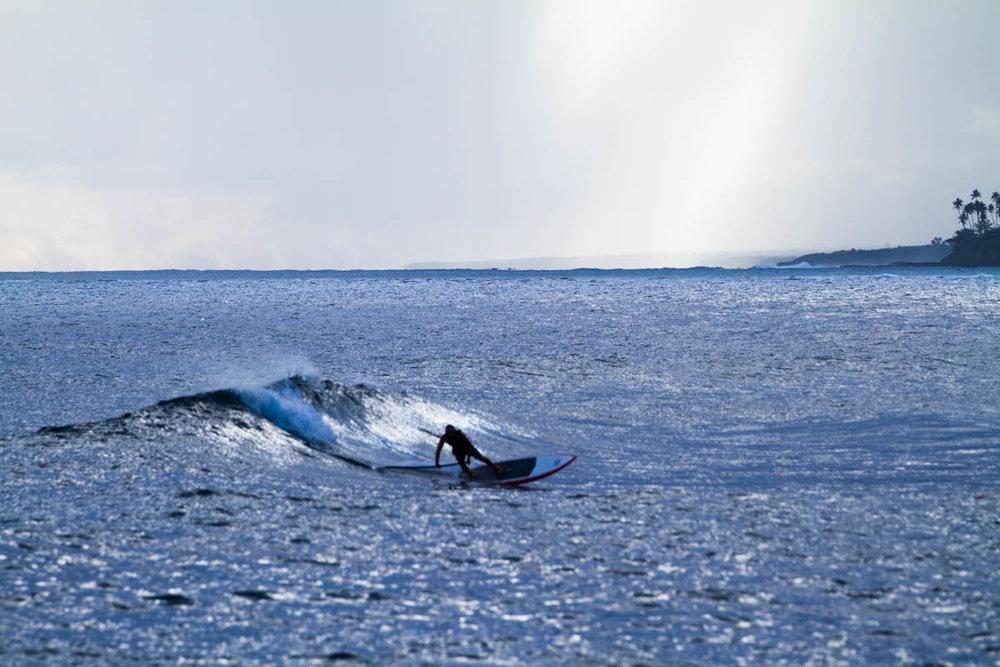 Paddleboard scoop.