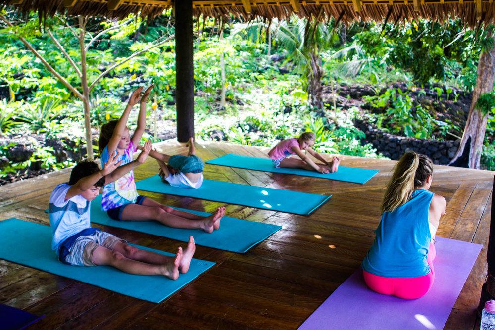 Taking the yoga pose further.