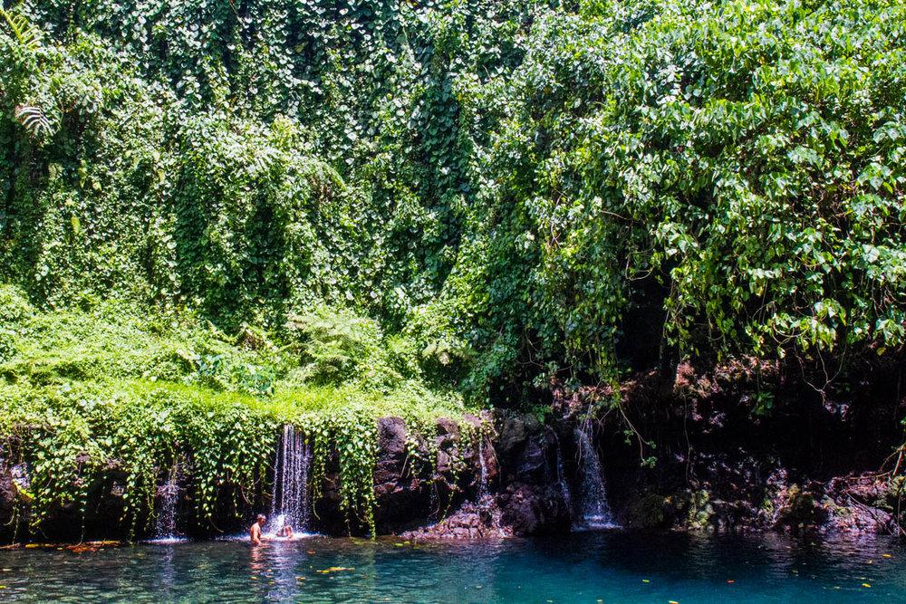 Samoan shower.