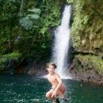 6.Addingsomeflavourtothejumpatthelocalwaterfalls