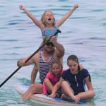 2.the happiness a paddle board can provide