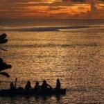 Aganoa_Lodge_Samoa_Kayak_Sunset