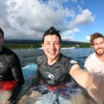 Aganoa_Lodge_Samoa_Surf_Selfie